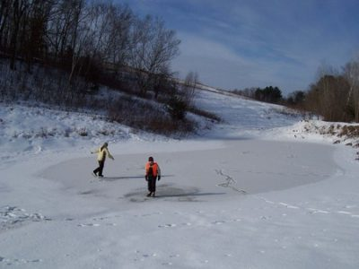 Ice Skating at Pheasant Ridge Resort