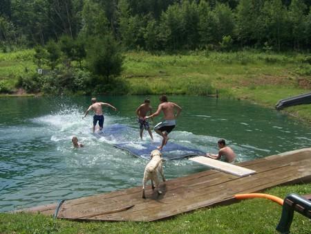 Swimming a Pheasant Ridge Resort