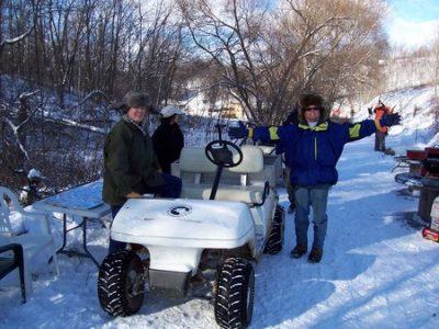Winter at Pheasant Ridge Resort