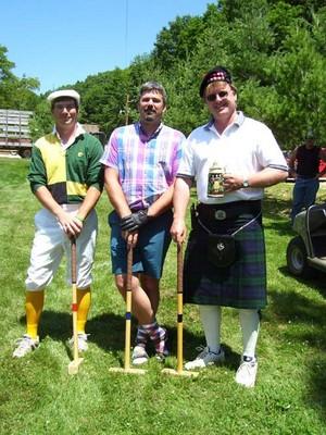 Yard Golf at Pheasant Ridge Resort