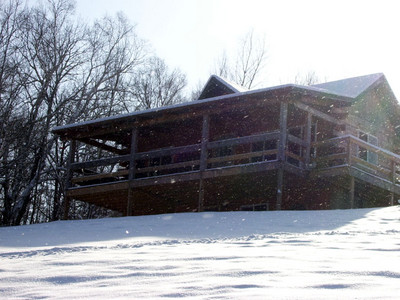 Bi-Level Cabin at Pheasant Ridge Resort